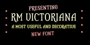 RM Victoriana font download