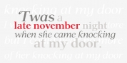 P22 Late November font download