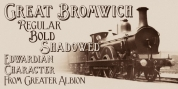 Great Bromwich font download