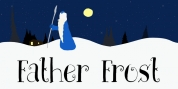 Father Frost font download