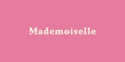 Mademoiselle font download
