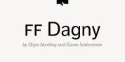 FF Dagny Office font download