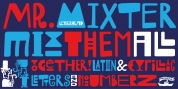 Mr Mixter font download