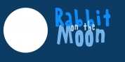 Rabbit On The Moon font download