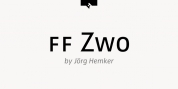 FF Zwo font download