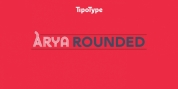 Arya Rounded font download