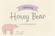 Honey Bear font download