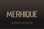 Merhique Family font download
