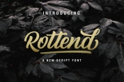 Rottend font download