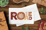 Rose Road font download