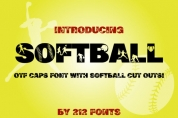 Softball font download