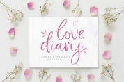 Love Diary font download