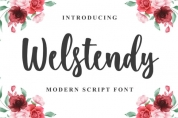 Welstendy font download
