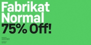 Fabrikat Normal font download