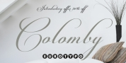 Colomby font download
