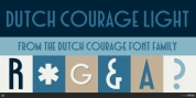 Dutch Courage font download