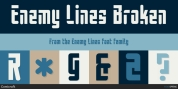 Enemy Lines font download