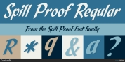 Spill Proof font download