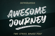 Awesome Journey font download