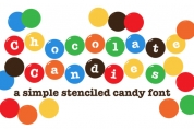 Chocolate Candies font download