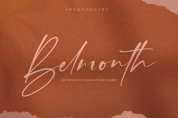 Belmonth font download