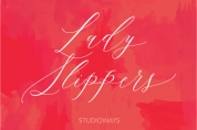 Lady Slippers font download