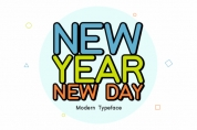 New Year New Day font download