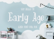 Early Age font download
