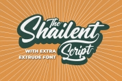 The Shailent font download
