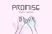 Promise font download