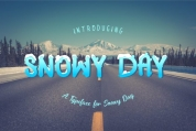 Snowy Day font download
