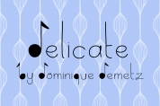 Delicate font download