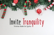 Invite Tranquility font download