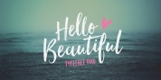 Hello Beautiful font download