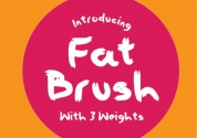 Fat Brush font download