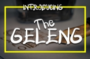 The Geleng font download