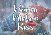 Warm Winter Kiss font download