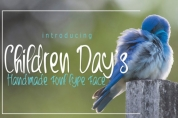 Children Day's font download
