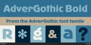 AdverGothic font download