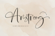 Amstrong Script font download