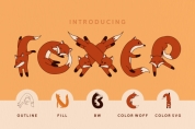 Foxer font download