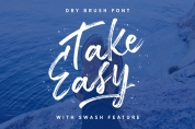 Take Easy font download