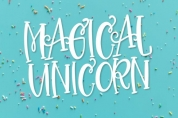 Magical Unicorn Duo font download