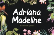 Adriana Madeline font download