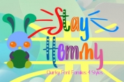 Stay Hommy font download