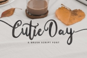 Cutie Day font download