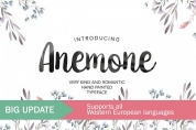 Anemone font download