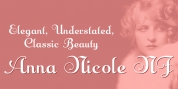 Anna Nicole NF font download