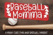Baseball Momma Duo font download