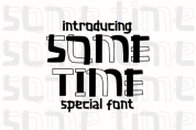 Some Time font download